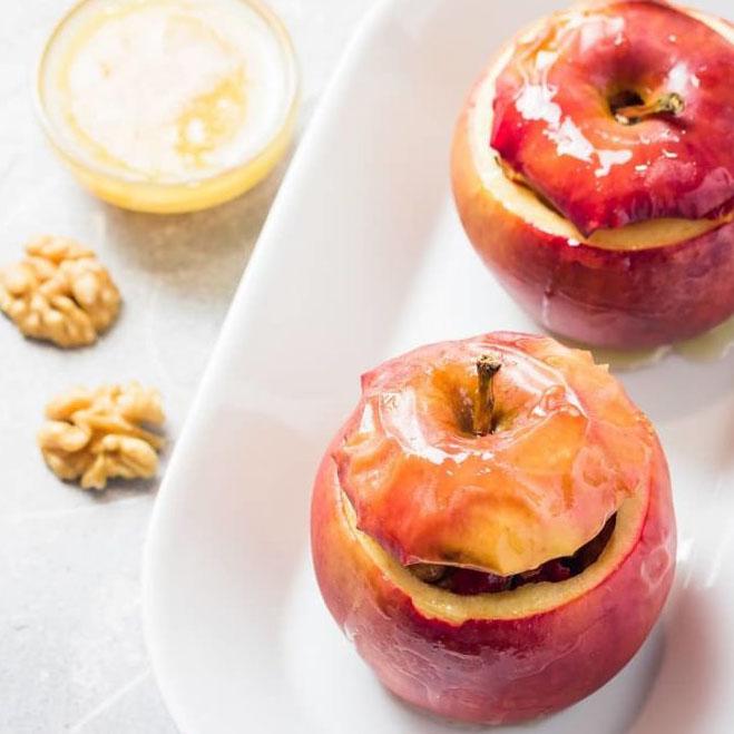 Bratapfel mit leckerer Füllung
