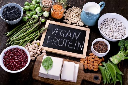 veganes Eiweiß
